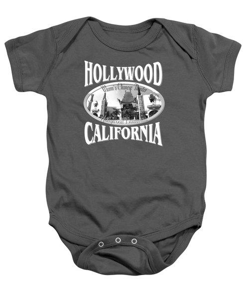 Hollywood California Design Baby Onesie