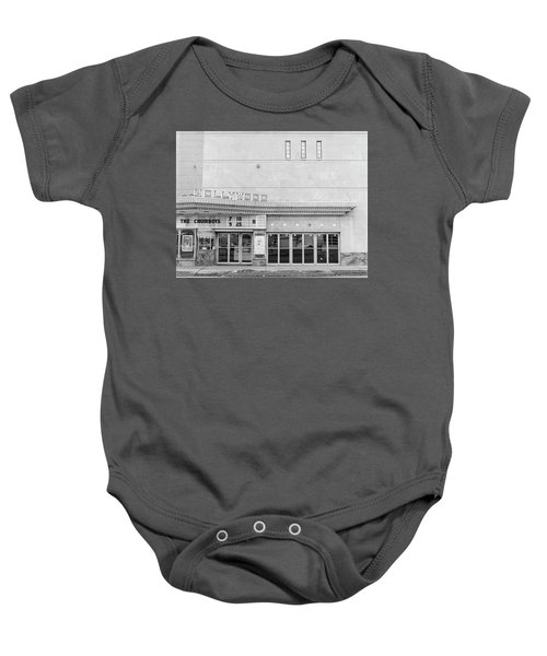 Hollywood Theater Marquee Baby Onesie