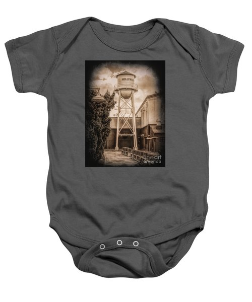 Hollywood Water Tower 2 Baby Onesie