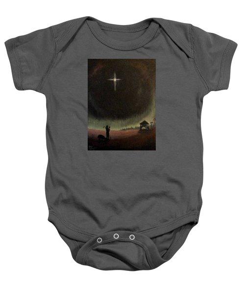 Holy Night Baby Onesie