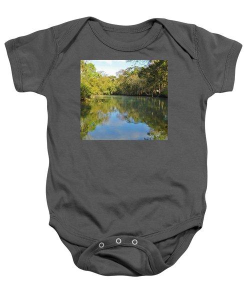 Homosassa River Baby Onesie