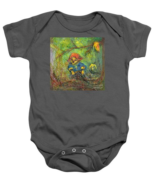 Honey Bear Baby Onesie