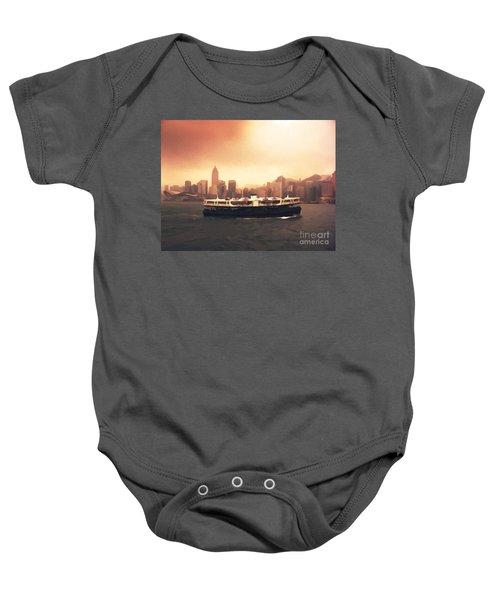 Hong Kong Harbour 01 Baby Onesie
