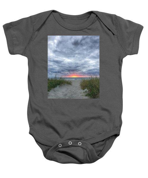 Hope On The Horizon Delray Beach Florida  Baby Onesie