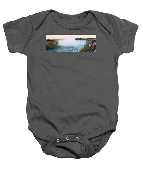 Horseshoe Falls At Dusk Baby Onesie
