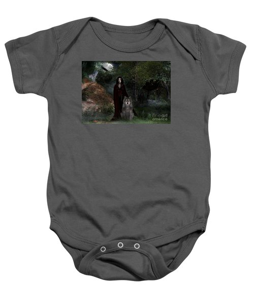Hour Of The Wolf Baby Onesie