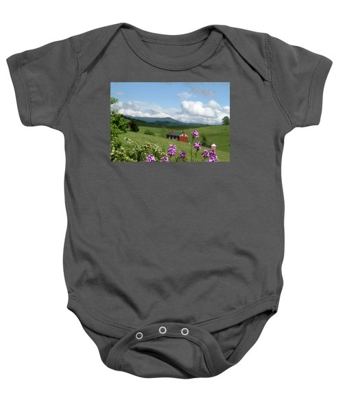 House On Hill In Lexington Baby Onesie