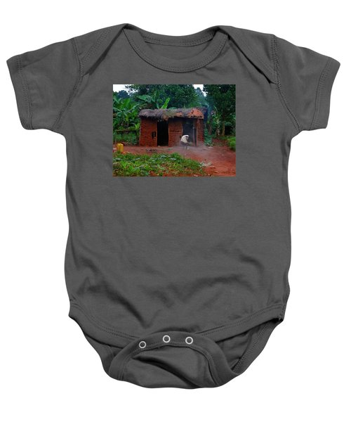 Housecleaning Africa Style Baby Onesie