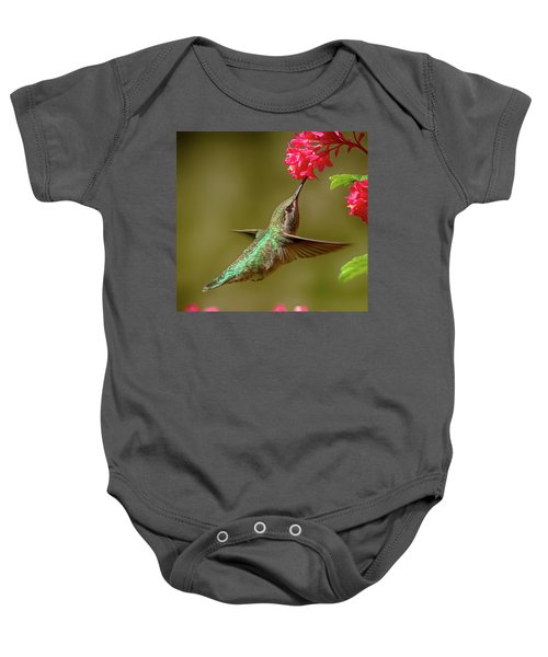 Hover Lunch Baby Onesie