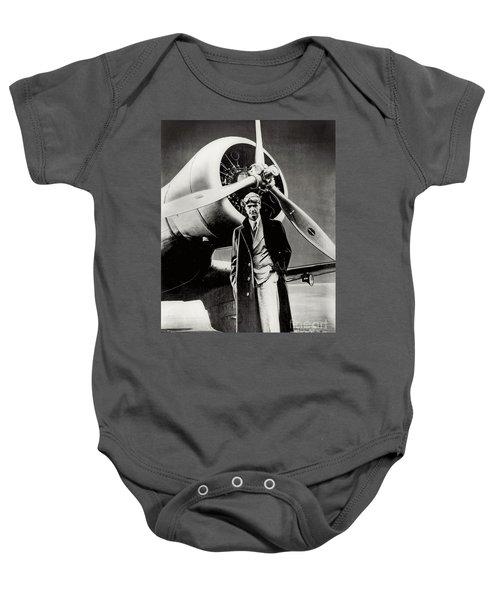 Howard Hughes - American Aviator  Baby Onesie
