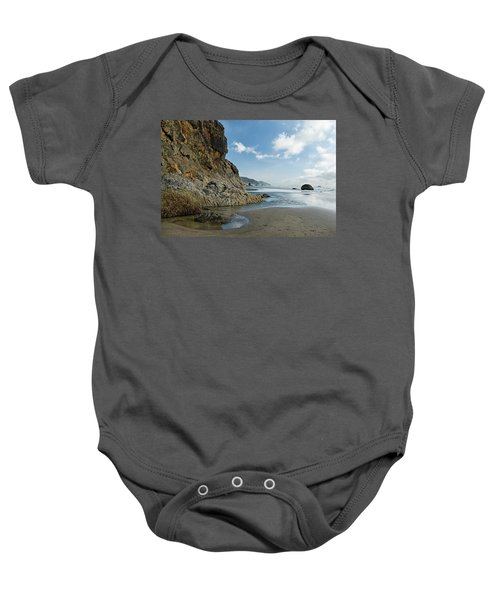 Hug Point Beach Baby Onesie