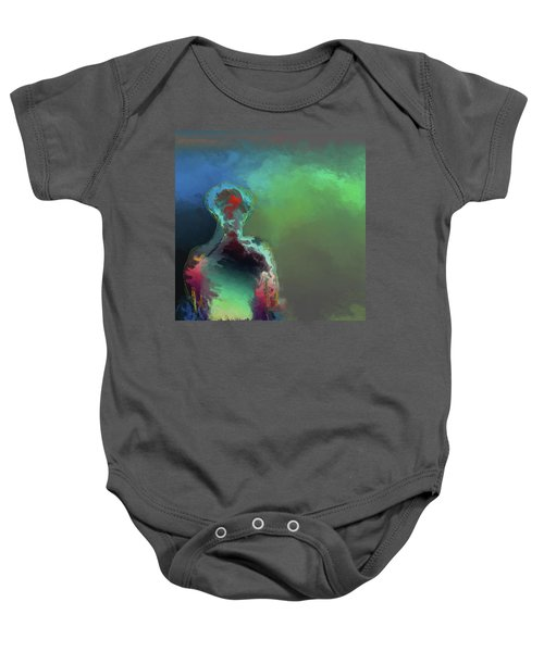 Humanoid In The Fifth Dimension Baby Onesie