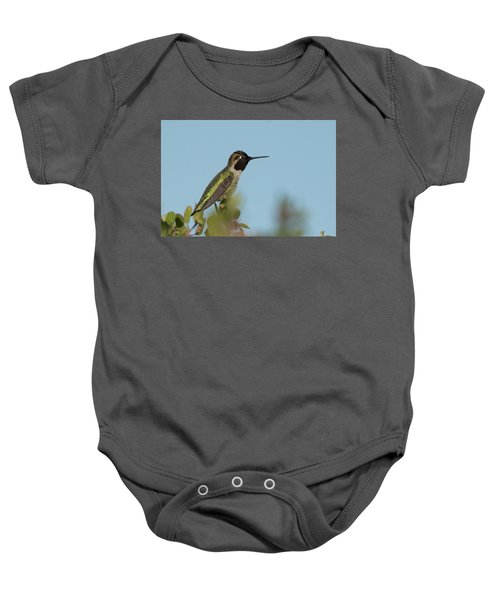 Hummingbird On Watch Baby Onesie