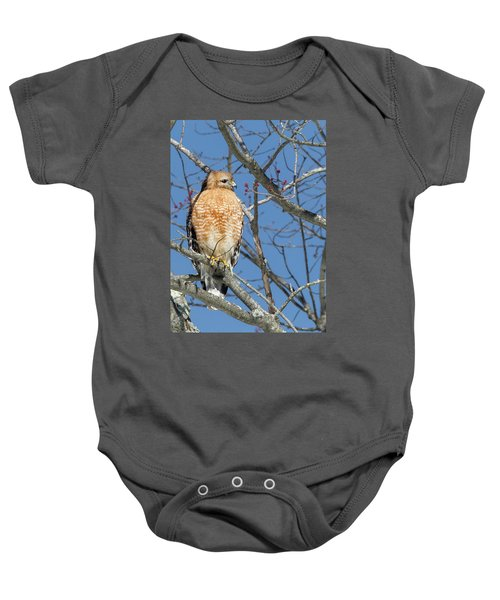 Baby Onesie featuring the photograph Hunting by Bill Wakeley