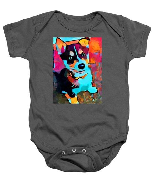 Husky 3 Baby Onesie
