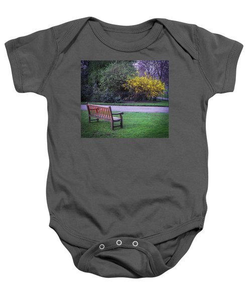 Hyde Park Bench - London Baby Onesie
