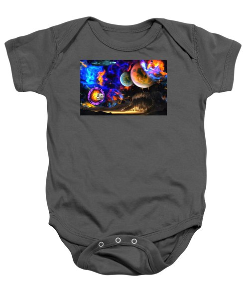 Hyperactivity Sector X66 In The Andromeda Gallaxy Baby Onesie