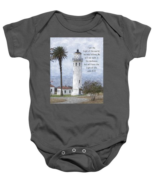 I Am The Light Of The World Baby Onesie