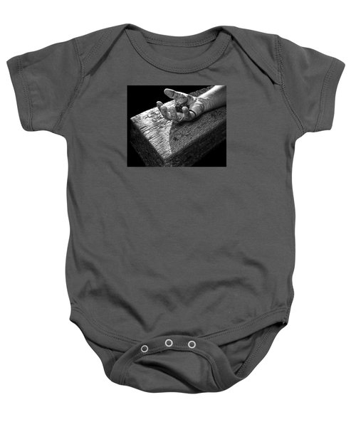 I Reached Out To You Baby Onesie