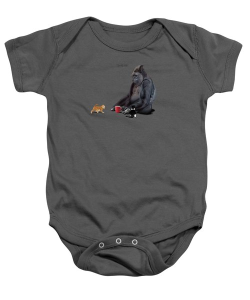 I Should, Koko Baby Onesie by Rob Snow