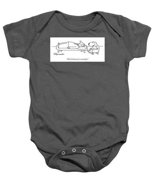 I Think You Are Wonderful Baby Onesie