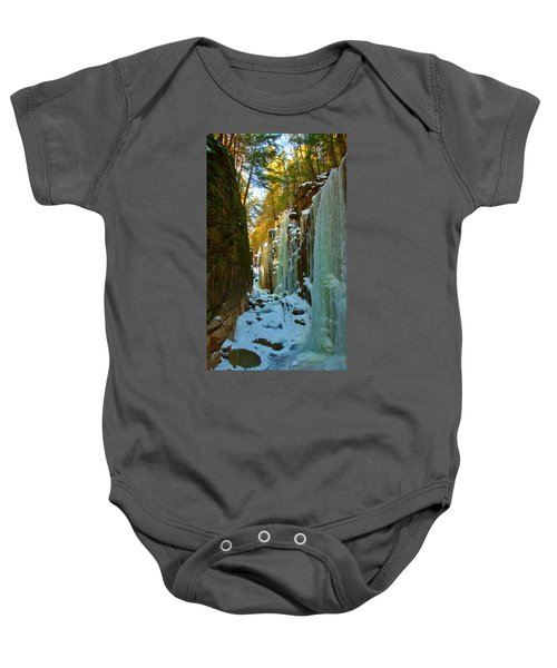 Ice At The Flume Baby Onesie