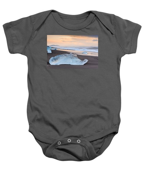 Ice Beach Baby Onesie