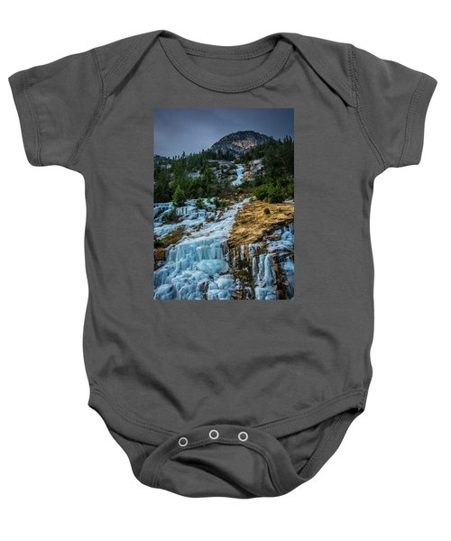 Ice Fall Baby Onesie