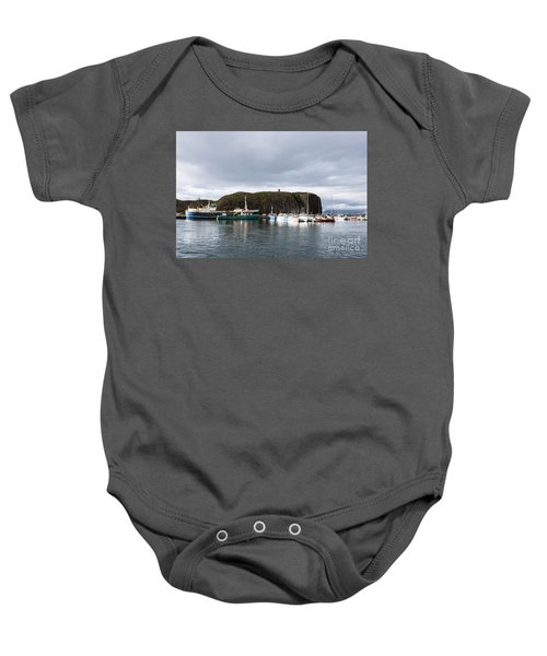 Iceland Fisherman Harbor Baby Onesie