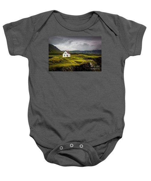Iceland Scene Baby Onesie