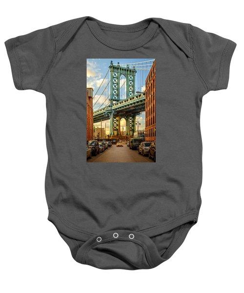 Iconic Manhattan Baby Onesie