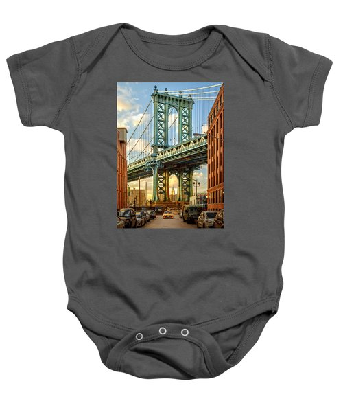 Iconic Manhattan Baby Onesie