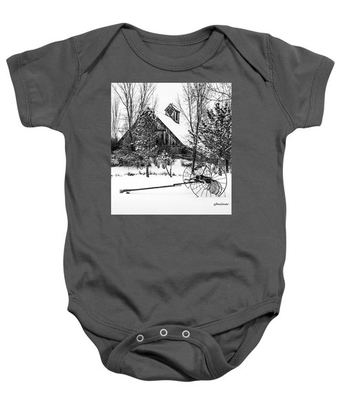 Idle Time - Waiting For Spring Baby Onesie