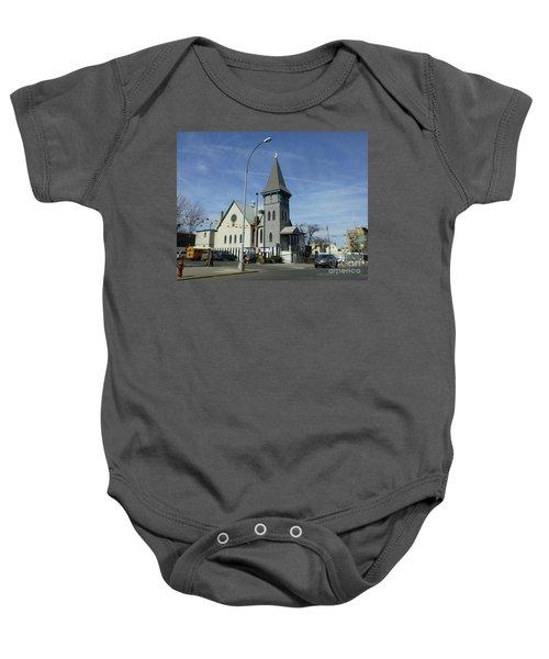 Iglesia Metodista Unida Church Baby Onesie