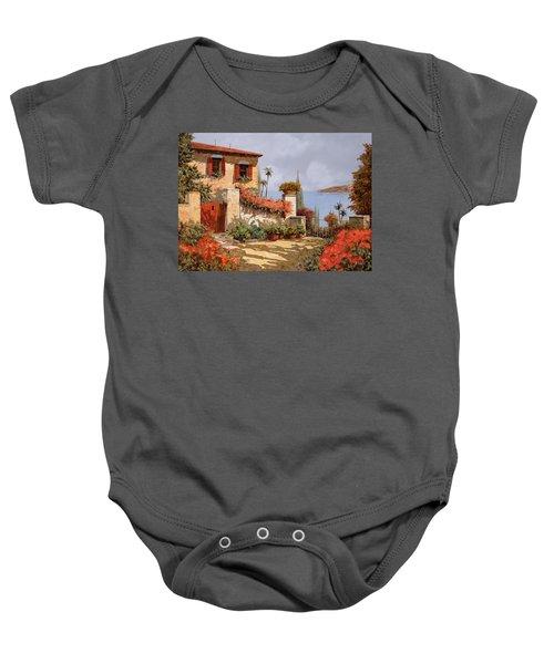 Il Giardino Rosso Baby Onesie