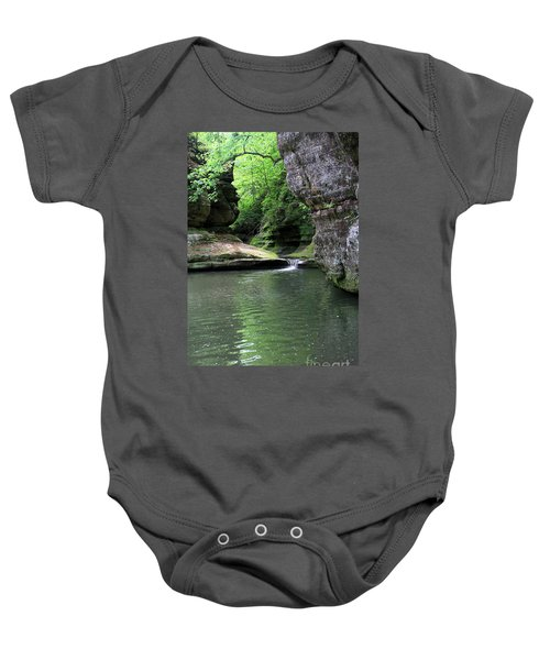 Illinois Canyon Summer Baby Onesie