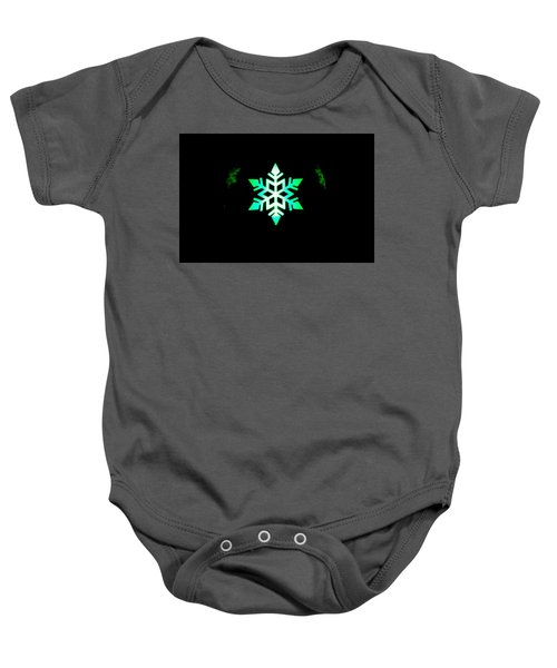 Illuminated Candle Bulb Baby Onesie