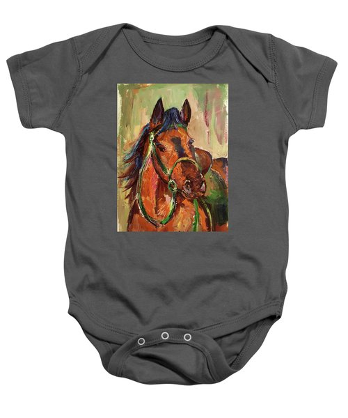 Impressionist Horse Baby Onesie