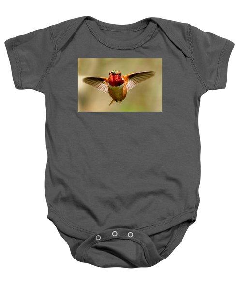 In Flight Baby Onesie