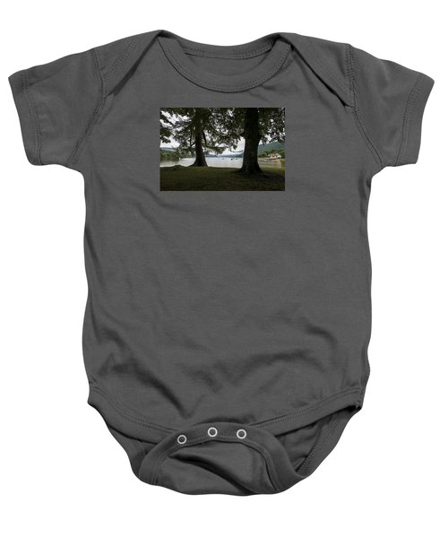 Baby Onesie featuring the photograph In Glencoe Uk by Dubi Roman