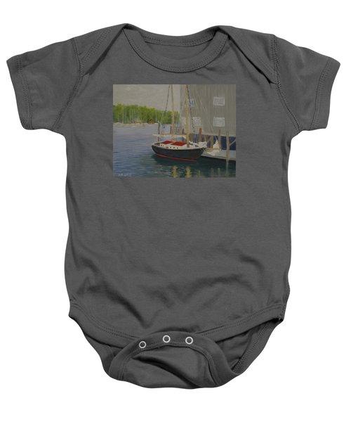 In Port Baby Onesie