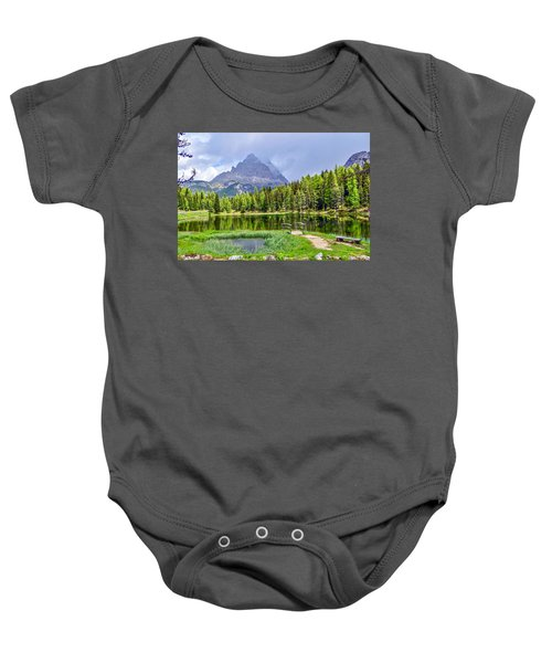 In The Clouds Baby Onesie