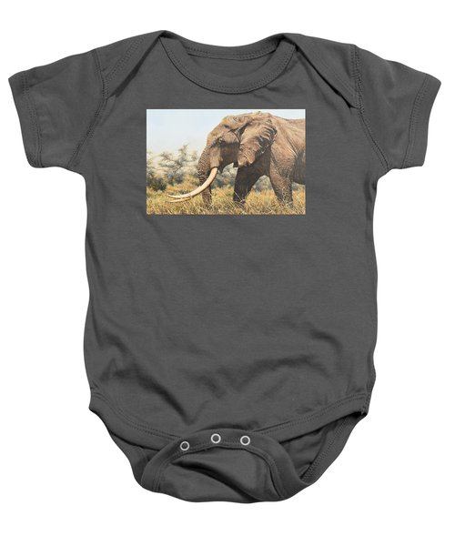 In The Footsteps Of Elders Baby Onesie