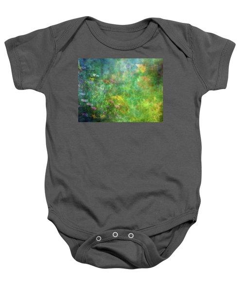 In The Garden 2296 Idp_2 Baby Onesie