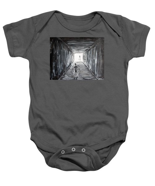 In The Light Of The Living Baby Onesie