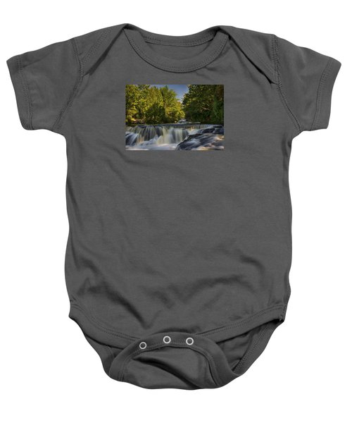 In The Middle Of The Middle Branch Baby Onesie