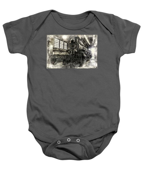In The Roundhouse Baby Onesie