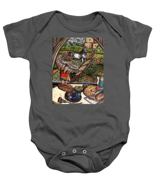 In Times Of Need Baby Onesie