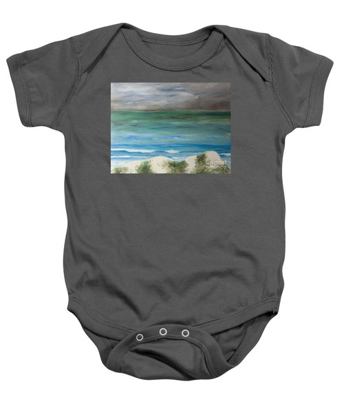 Incoming Weather Baby Onesie
