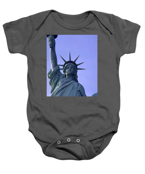 Independence Day Usa Baby Onesie